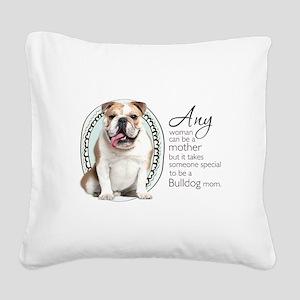 specialmom Square Canvas Pillow