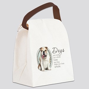 wholelives Canvas Lunch Bag