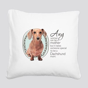 specialmom Square Canvas Pillow
