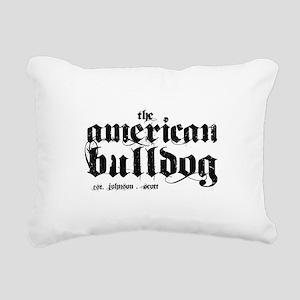 frontback Rectangular Canvas Pillow