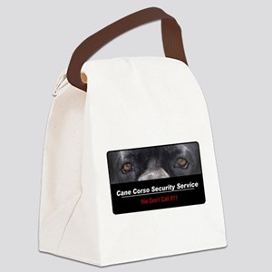 security Canvas Lunch Bag