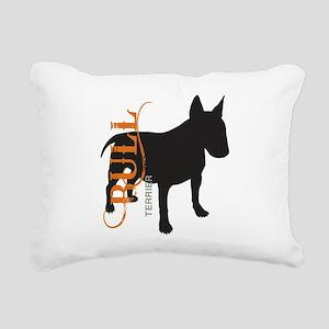 grungesilhouette Rectangular Canvas Pillow