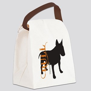 grungesilhouette Canvas Lunch Bag