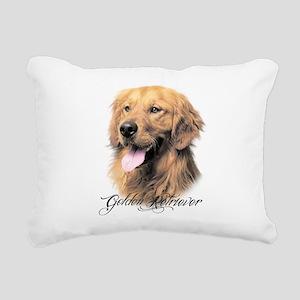 scriptgolden Rectangular Canvas Pillow