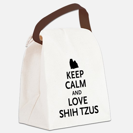 keepcalm.png Canvas Lunch Bag