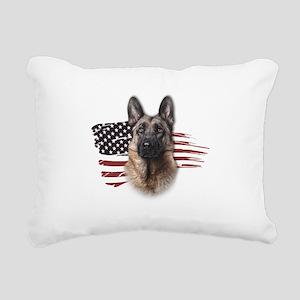 usa Rectangular Canvas Pillow
