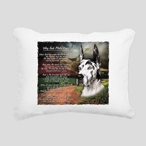 godmadedogs3 Rectangular Canvas Pillow
