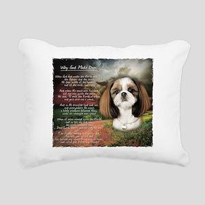 godmadedogs Rectangular Canvas Pillow