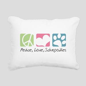 peacedogs Rectangular Canvas Pillow