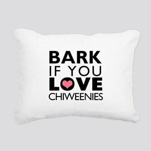 BARK Rectangular Canvas Pillow