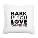BARK Square Canvas Pillow