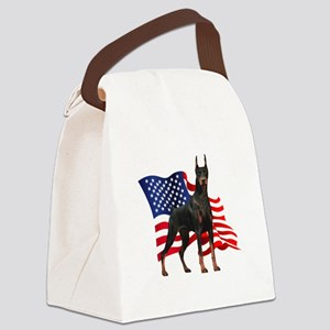 flag Canvas Lunch Bag