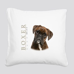 portrait5 Square Canvas Pillow