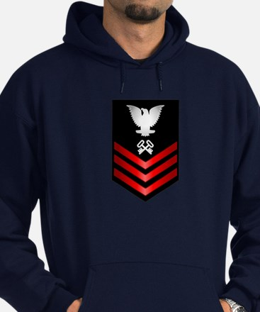 Navy Storekeeper First Class Hoodie (dark)