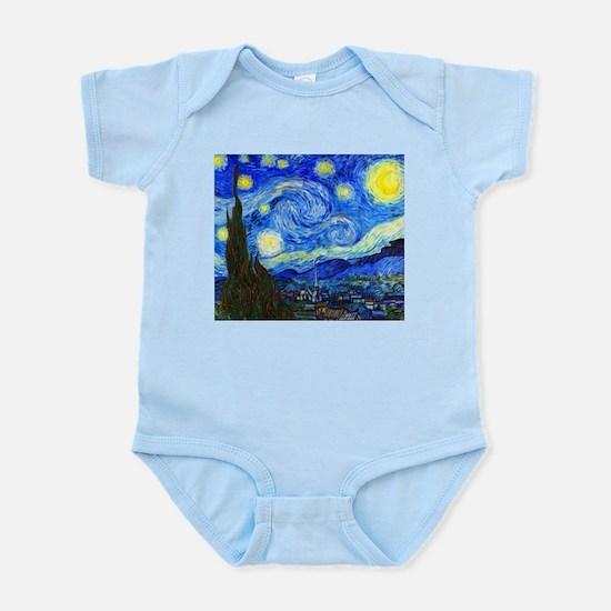 Van Gogh - Starry Night Infant Bodysuit