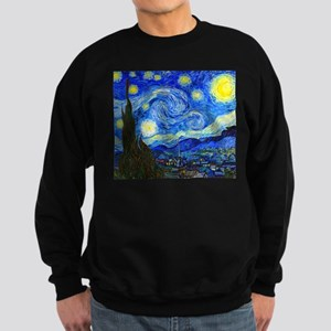 Van Gogh - Starry Night Sweatshirt (dark)