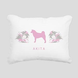 10-pinkgray Rectangular Canvas Pillow