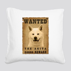 21-Wanted _V2 Square Canvas Pillow
