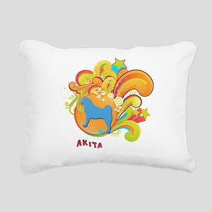 6-retro Rectangular Canvas Pillow