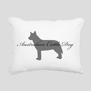 11-greysilhouette Rectangular Canvas Pillow