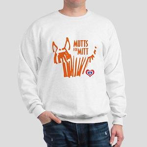 Mutts for Mitt by VampireDog Sweatshirt