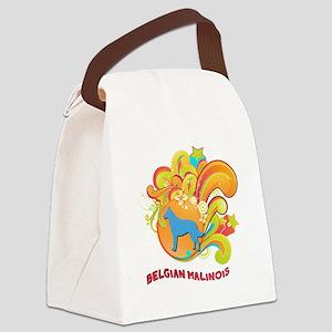 18-retro Canvas Lunch Bag