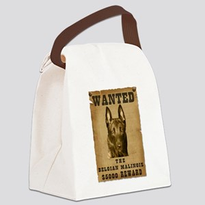 18-Wanted _V2 Canvas Lunch Bag