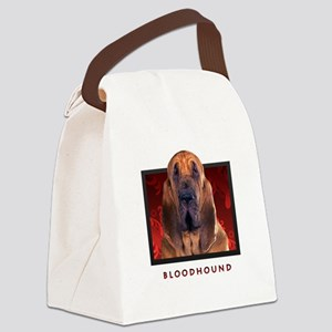 11-redblock Canvas Lunch Bag