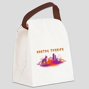 12-citydog Canvas Lunch Bag