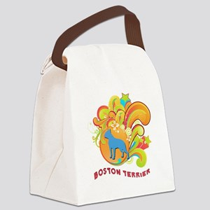5-retro Canvas Lunch Bag