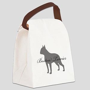 27-greysilhouette Canvas Lunch Bag