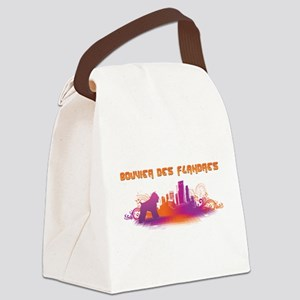 25-citydog Canvas Lunch Bag