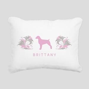 34-pinkgray Rectangular Canvas Pillow