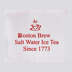 Boston Brew Throw Blanket