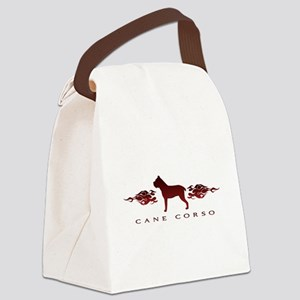 flames Canvas Lunch Bag