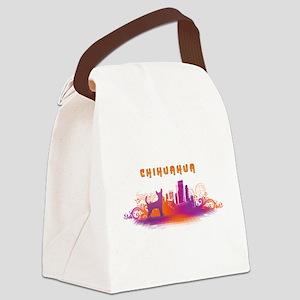 citydog2 Canvas Lunch Bag