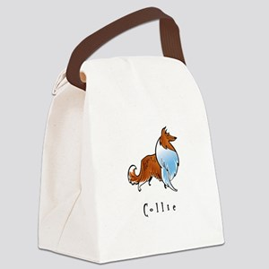 2-illustrated Canvas Lunch Bag