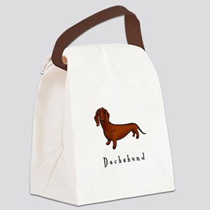 illustrated Canvas Lunch Bag