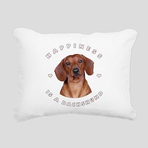 6-happiness Rectangular Canvas Pillow