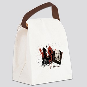 2-dalmation Canvas Lunch Bag