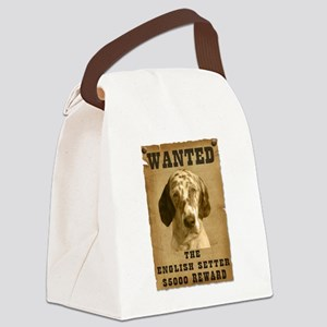 19-Wanted _V2 Canvas Lunch Bag