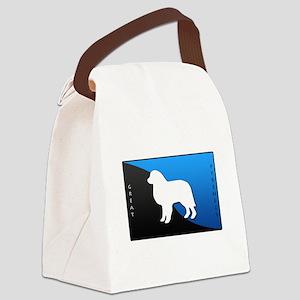 blueblack Canvas Lunch Bag