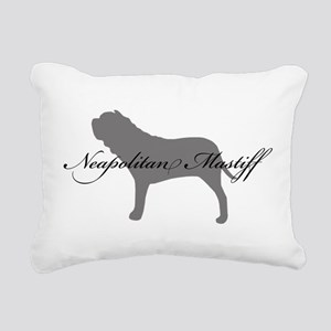 7-greysilhouette2 Rectangular Canvas Pillow