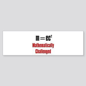 MATH WORD PROBLEMS Bumper Sticker