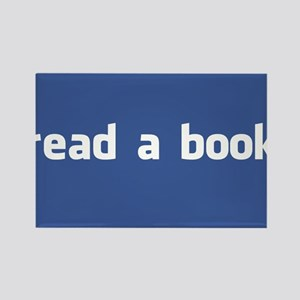read a book Rectangle Magnet