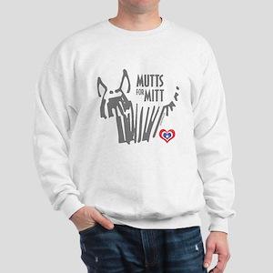 Mutts for Mitt Gray by VampireDog Sweatshirt