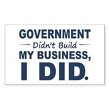Government didnt build my business 10 Pack