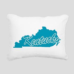 3-kentucky Rectangular Canvas Pillow
