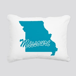 3-missouri Rectangular Canvas Pillow