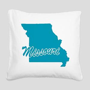 3-missouri Square Canvas Pillow